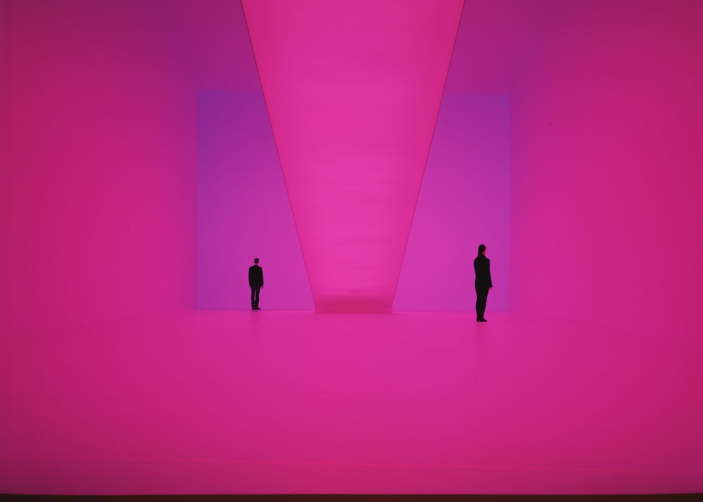 """Briget's Bardo"" by James Turrell . Installation. Photography ©Florian Holzherr"